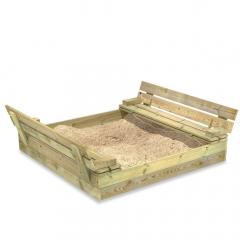 Sandkasse Flip 120x125x20 cm